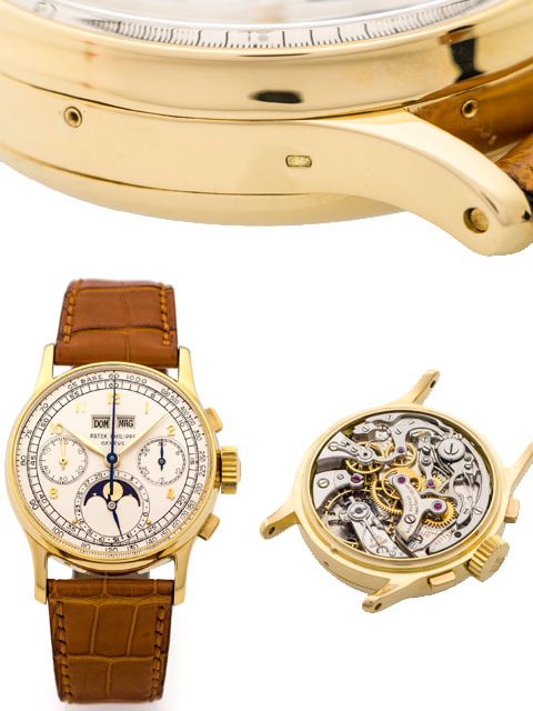 Patek Philippe ref. 1518 sold at auctions